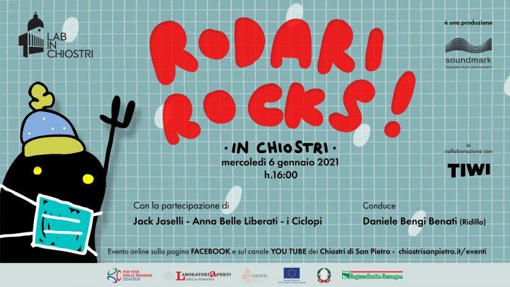 Flyer Rodari Rocks in chiostri