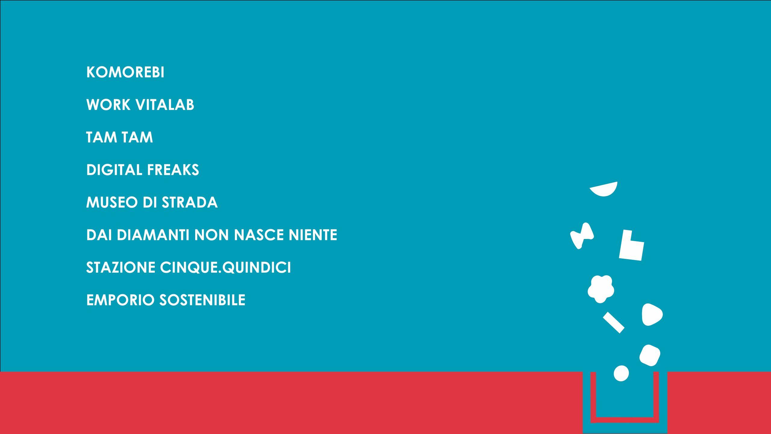 Hack in Chiostri:                 ecco gli 8 progetti selezionati