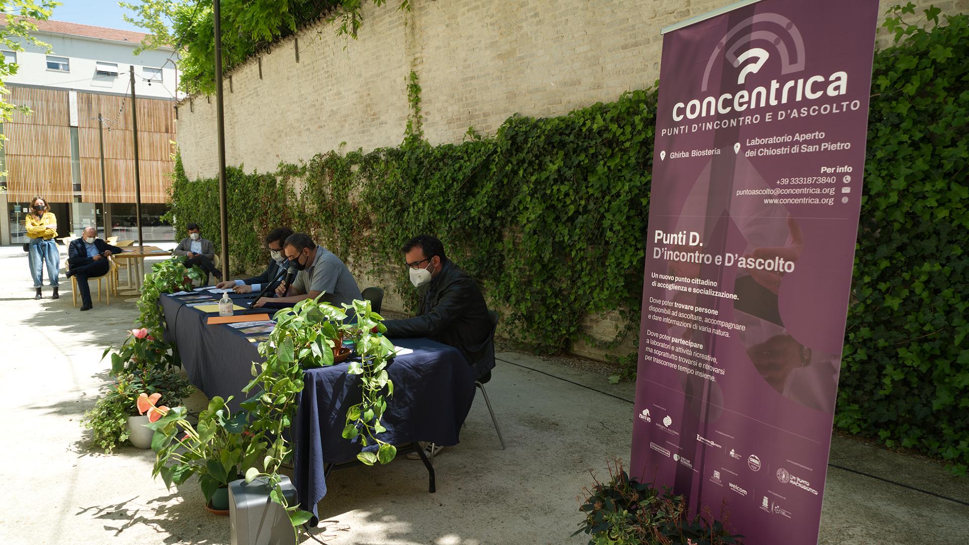 Il Laboratorio Aperto ospita uno sportello PUNTO D. di CONCENTRICA, la rete per nuove comunità socievoli